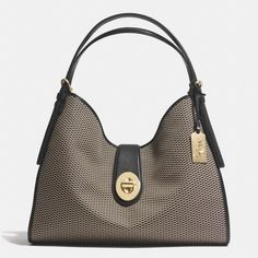 The Madison Carlyle Shoulder Bag In Jacquard Fabric from Coach