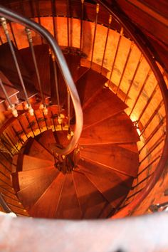Chateau de Montresor : l'escalier