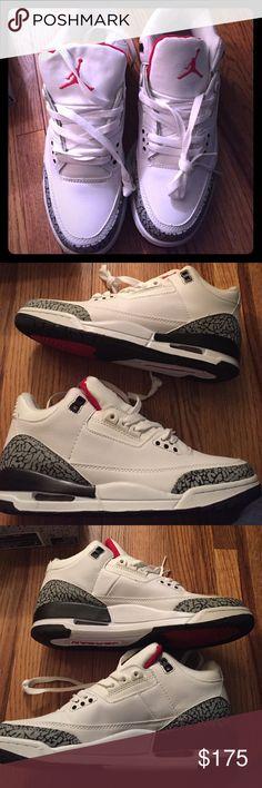 Air Jordan Retro Only worn once! No flaws. Jordan Shoes Sneakers