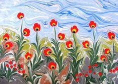 esengul inalpulat, cümbüş- Ebru, Art Academy Resim Detay