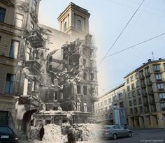 25 World War II Images Photoshopped Into Modern Scenes