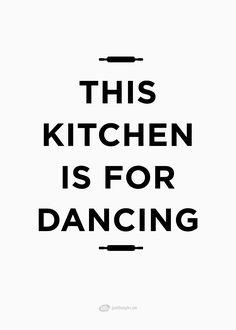 """Poster """"This kitchen"""" – Köp på www.justsayin.se"""