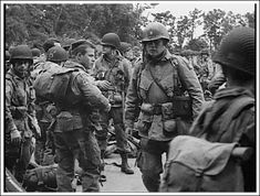 Soldiers of the 82nd Airborne prepare for their historic D-Day jump. On June 6th, 1944, over 13,000 U.S. paratroopers would jump into Normandy including more than 2000 men from the 507th PIR.