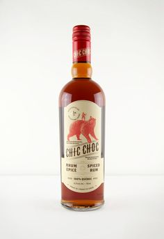 Chic Choc Spiced Rum via @thedieline