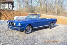 eBay: 1966 Ford Mustang Convertible 289 AUTO PS PB GT TRIM 1966 MUSTANG CONVERTIBLE CONVERSION 289 AUTO PS PB SOLID… #fordmustang #ford