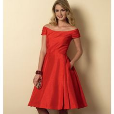 Butterwick Pattern- 6129 Misses Dress