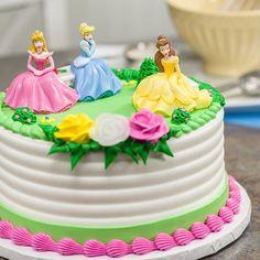 How-to Make a Disney Princess Garden Royalty Cake
