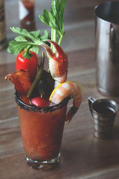 The Ultimate Bloody Mary // @HonestlyYUM