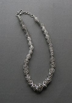 Wire Bead Necklace