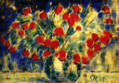 Christian Rohlfs, Red Boquet, 1925