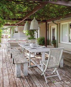 inspirations pinterest déco jardin et terrasse - voici notre ... - Photo Deco Terrasse Exterieur