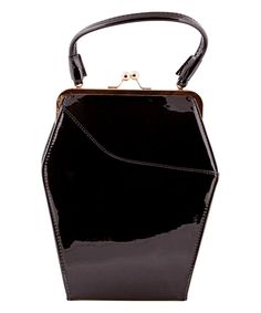 Look what I found on #zulily! Tatyana Black To Die For Satchel by Tatyana #zulilyfinds