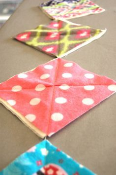 Rag Quilt Instructions - so easy to make (a project that can be finished in a day!)