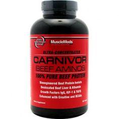 76ea435ca Muscle Meds Carnivor Beef Aminos (300 Tabs)