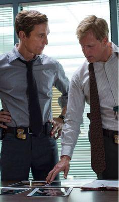 McConaughey and Harrelson True Detective