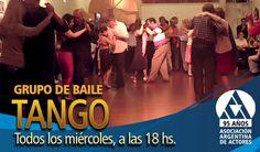 A bailar el Tango en la Asociación Argentina de Actores