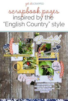 Ideas para el libro de recuerdos de la narración con un estilo del campo Inglés    Get It desguazado