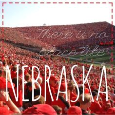There is no place like Nebraska #huskerfootball