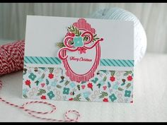 {capture the moment}: Papertrey Ink Make It Monday #192: Tab Closure Tri-fold Card