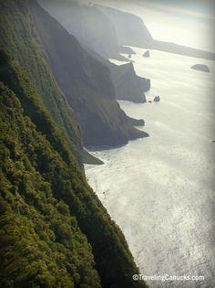 The Sea Cliffs of Molokai, Hawaii