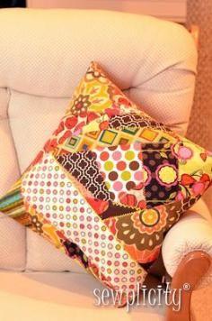 DIY Tutorial DIY PATCHWORK / DIY Sew Crazy Patchwork - Bead&Cord
