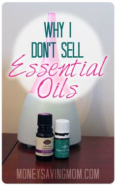Wondering if all the information out there about essential oils is just hype? Do they really work? Here is one mom's perspective on why she doesn't sell essential oils (it might surprise you!) A GREAT read!