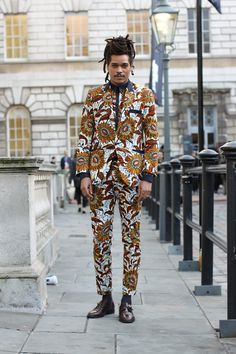 It's different, but someone out there can pull off this look.