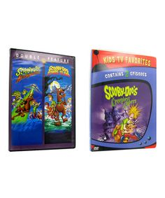 Take a look at this Scooby-Doo Creepiest Capers, Aliens & Zombies DVDs by iNetVideo.com on #zulily today!