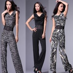 168 star paragraph of the trend of fashion zebra print luxury jumpsuit fashion jumpsuit . 7% off $56.09