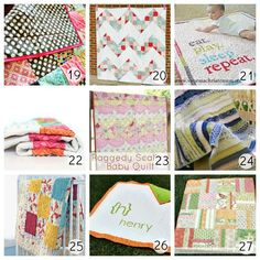 36 Beautiful Quilt Tutorials