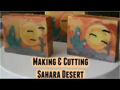 Making & Cutting Sahara Desert | Soap Challenge- Sculpted Layers - YouTube
