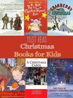 Want to add more Christmas joy with your kids? Enjoy Christmas with your kids while you snuggle up with these must read Christmas books for kids -a huge list of picture and chapter books for kids. #Christmas #Reading #Homeschool
