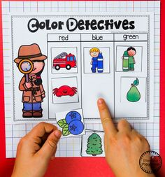 Color Worksheets Join our Email Group for Ideas, Freebies & Special Offers.Do you need fun color worksheets and centers for teaching preschool kids about col Autism Activities, Sorting Activities, Classroom Activities, Activities For Kids, Vocabulary Activities, Educational Activities, Color Worksheets For Preschool, Preschool Colors, Preschool Themes