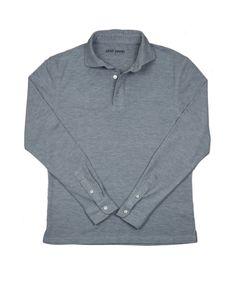 Kent Wang - Grey Rugby Shirt