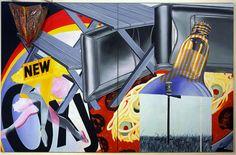 James Rosenquist - Nomad - 1963 - Albright-Knox Art Gallery, Buffalo, New York Rosenquist's pop-art dig at media-manipulated mindless consumerism, Nomad Arte Pop, James Rosenquist, Modern Art, Contemporary Art, Tv Movie, Pop Art Artists, Jim Dine, Claes Oldenburg, Pop Art Movement