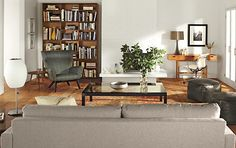 Rollins Stacking Storage Cubes in Walnut - Living - Room & Board