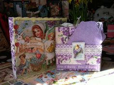 papercraft project, crafti schtuff, scrapbook paper, graphic 45, creativ idea, sweet sentiment, scrapbook project