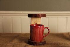 Handmade Wooden Pour-Over Stand (Doug Fir) // Redemption Woodwork