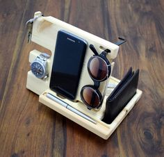 Hey, I found this really awesome Etsy listing at https://www.etsy.com/listing/517397139/wooden-phone-stand-desk-organizer