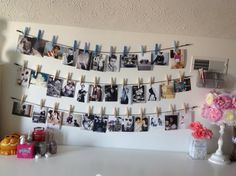Completed Photo Wall