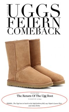 The Return Of The Ugg Boot Bearpaw Boots, Ugg Boots, Julia Hobbs, Uggs, New Shoes, High Fashion, Vogue, Fashion Trends, Style