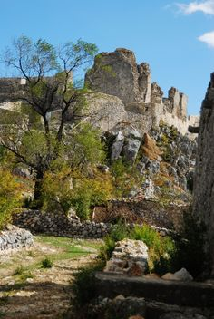 Herceg Stjepan Medieval Castle, Ljubuski. - Bosnia Herzegovina. (Europe)