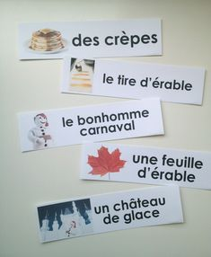 """""""Le carnaval de Québec"""" word strips (printable) February is French cultural week at the school. French Teaching Resources, Teaching Activities, Teaching French, Teaching Ideas, Mardi Gras, Carnival Activities, Theme Carnaval, Core French, French Education"""