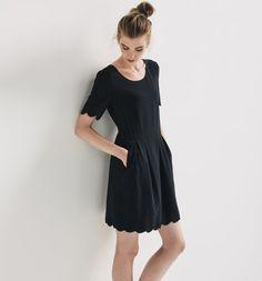 La petite robe noire trop choupette ! Robe rétro Femme