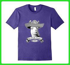 4b979bb51d48d Mens 16th Happy Birthday T-Shirt Gift - 2001 Age 16 Llama Shirt 2XL Purple