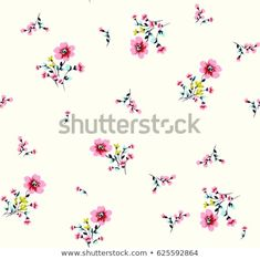 Flower Pattern Design, Cute Pattern, Flower Patterns, Flower Background Wallpaper, Flower Backgrounds, Thing 1, Small Flowers, Royalty Free Photos, Hand Embroidery