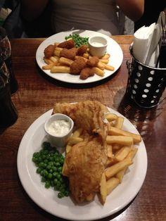 """Ce soir c'est Fish & Chips ! - Carnet de voyage """"À la découverte de Londres!"""""""