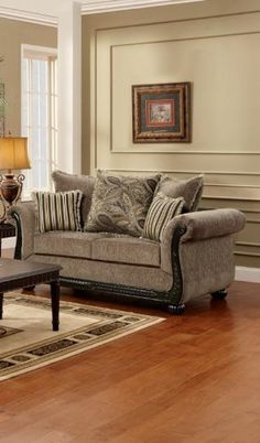 Chelsea Home Furniture Lily Loveseat Upholstered in Dream Java -- More info could be found at the image url.
