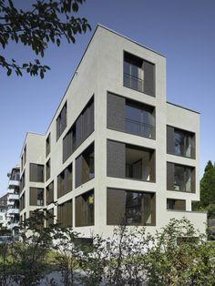 Projekt: Mehrfamilienhaus Haldenstrasse - Leuppi & Schafroth Architekten AG