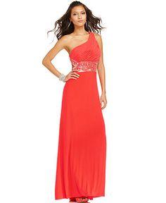 Cerise Cut-Out (LOL...my new prom dress)